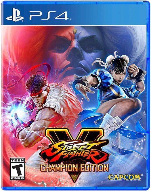 Jogo Street Fighter V Champion Edition - PS4