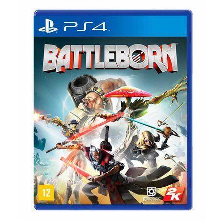 Novo: Jogo Battleborn - PS4