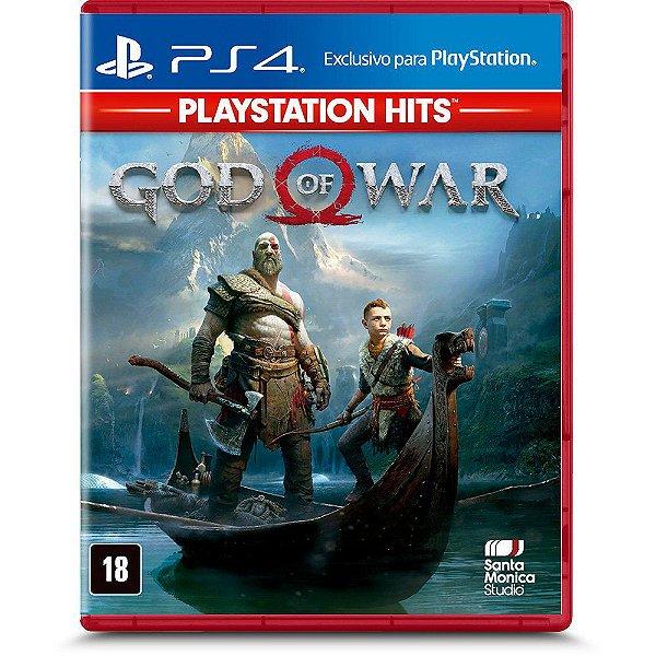 Novo: Jogo Gof Of War PS Hits - PS4