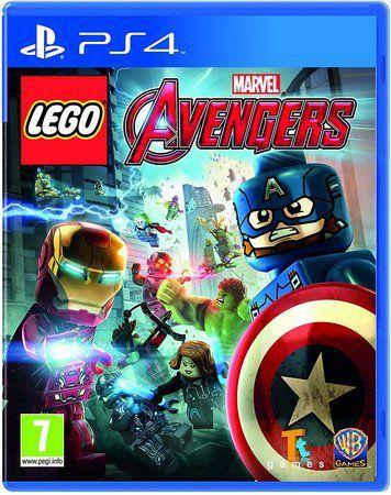 Novo: Jogo Lego: Marvel Vingadores - PS4