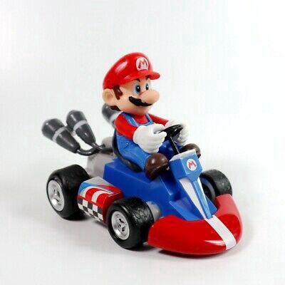 Novo: Super Mario Kart: Original Mini Figuras Pull-Back Racers - Mario