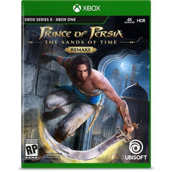 Pré-Venda: Prince of Persia The Sands of Time Remake - Xbox One/Xbox Series X