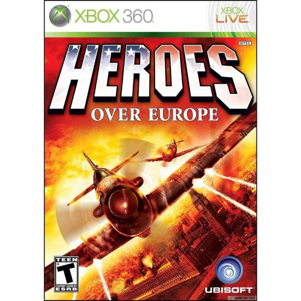 Usado: Jogo Heroes Over Europe - Xbox 360