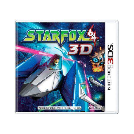 Usado: Jogo Star Fox 64 3D (Sem Capa) - Nintendo 3DS