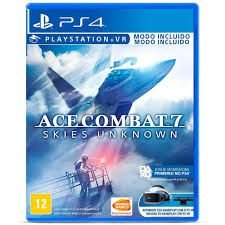 Novo: Jogo Ace Combat 7: Skies Unknown - PS4