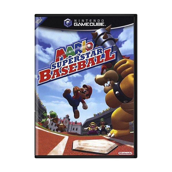 Usado: Jogo Mario Superstar Baseball - Game Cube