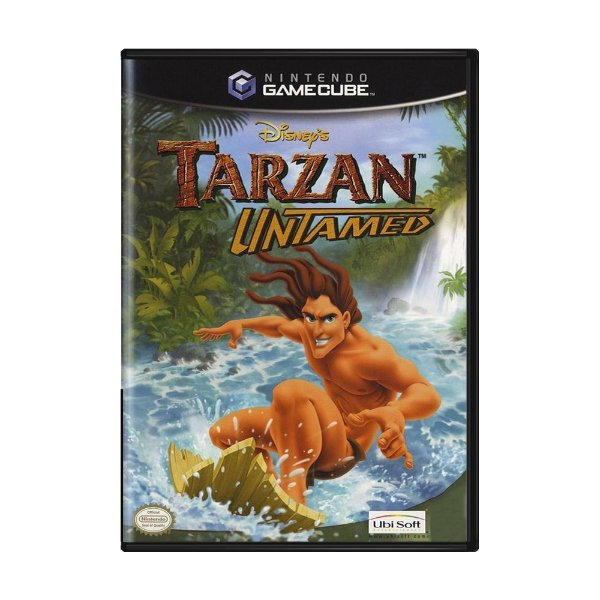 Usado: Jogo Tarzan Untamed - Game Cube