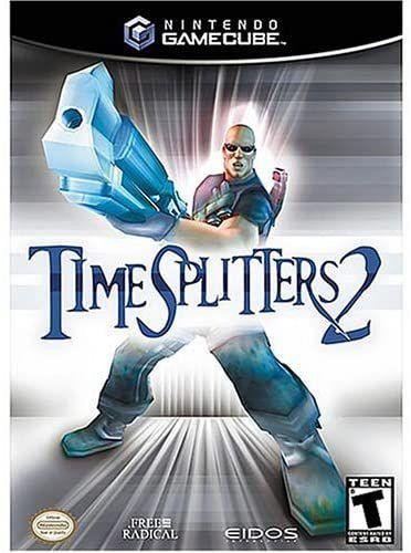 Usado: Jogo Timesplitters 2 - Gamecube