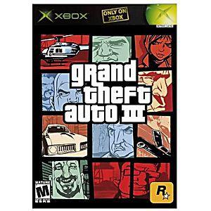 Usado: Jogo GTA III (Sem Capa) - Xbox