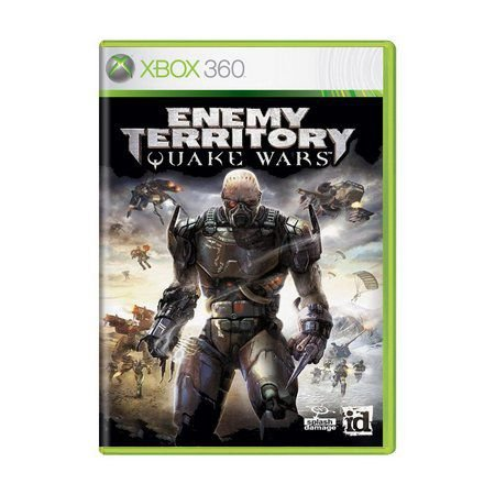 Usado: Jogo Enemy Territory: Quake Wars (Sem Capa)  - Xbox 360