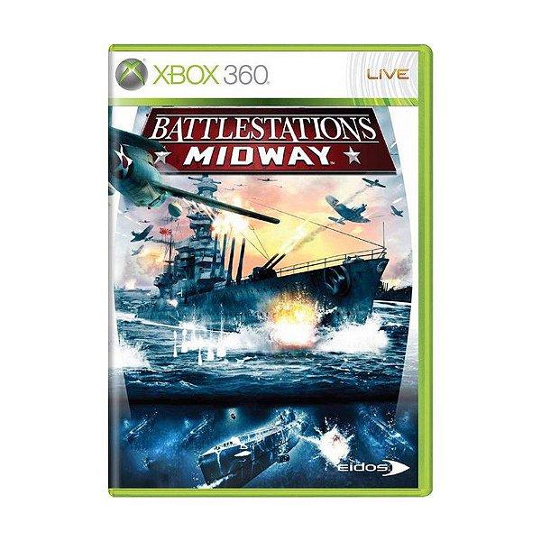 Usado: Jogo Battlestation Midway (Sem Capa) - Xbox 360
