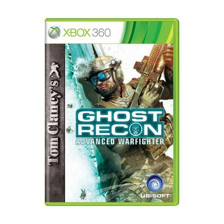 Usado: Jogo Tom Clancy's Ghost Recon: Advanced Warfighter (Sem Capa) - Xbox 360