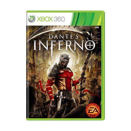 Usado: Jogo Dante's Inferno (Sem Capa) - Xbox 360