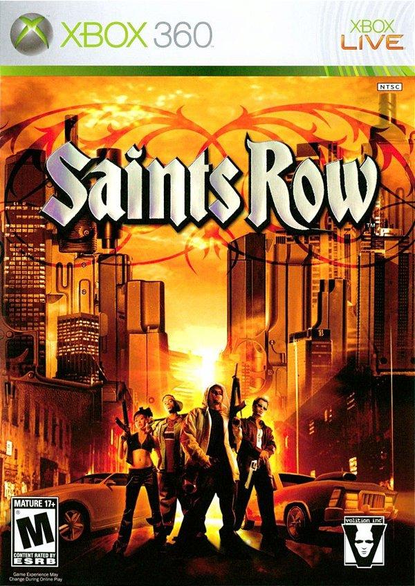Usado: Jogo Saints Row (Sem Capa) - Xbox 360