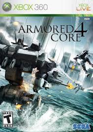 Usado: Jogo Armored Core 4 (Sem Capa) - Xbox 360