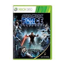 Usado: Jogo Star Wars: The Force Unleashed (Sem Capa) - Xbox 360