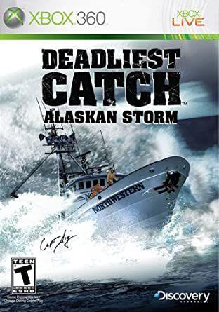 Usado: Jogo Deadliest Catch: Alaskan Storm - (Sem Capa) - Xbox 360