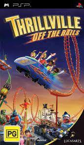Usado: Jogo Thrillville Off The Rails (Sem Capa) - PSP