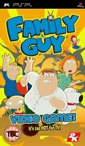 Usado: Jogo Family Guy: Video Game (Sem Capa) - PSP
