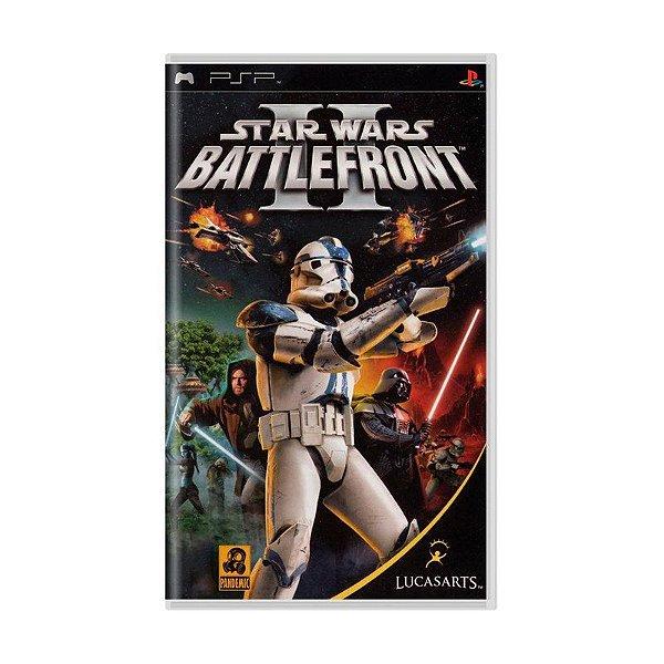 Usado: Jogo Star Wars Battlefront II (Sem Capa) - PSP