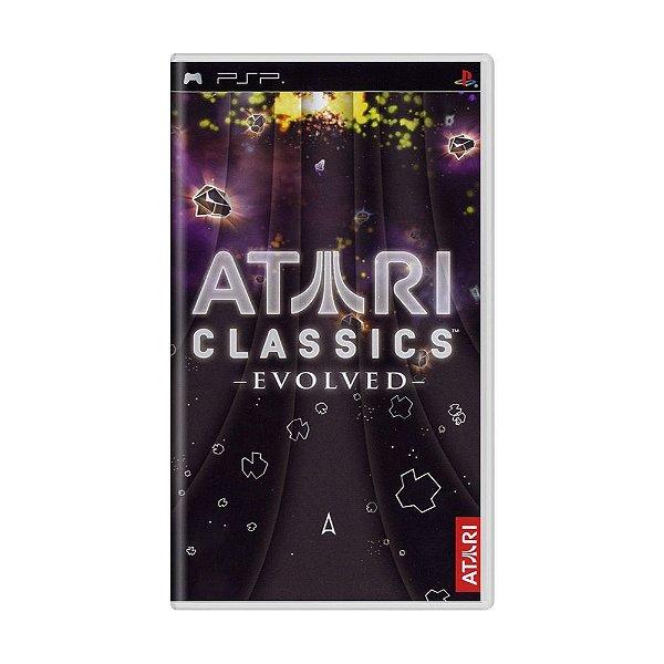 Usado: Jogo Atari Classics Evolved (Sem Capa) - PSP