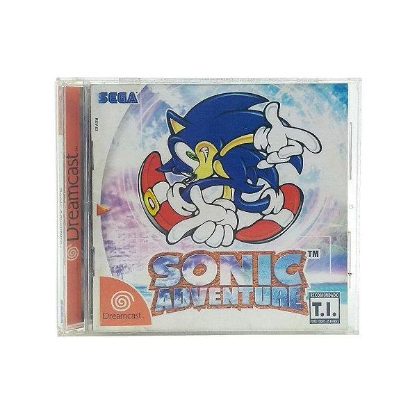 Usado: Jogo Sonic Adventure - Dreamcast