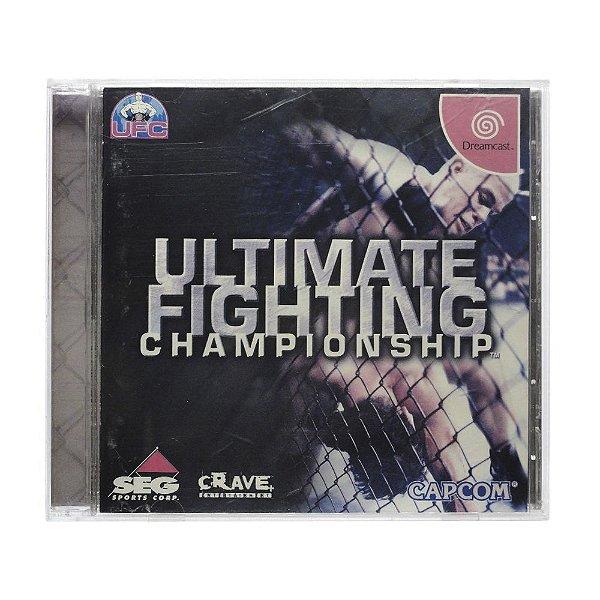 Usado: Jogo Ultimate Fighting Championship - Dreamcast