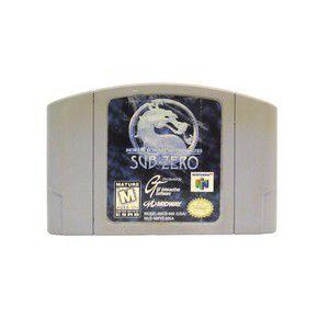 Usado Jogo Mortal Kombat Mythologies - Sub-Zero - Nintendo 64