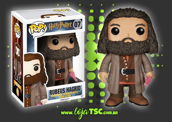 "Harry Potter - Rubeus Hagrid - 6"""