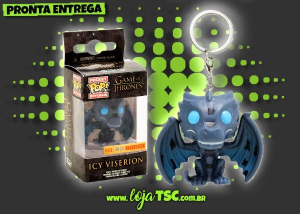 Chaveiro - Game Of Thrones - Ice Viserion