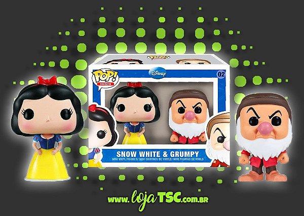 Pack Mini - A Branca de Neve e os Sete Anões - Branca de Neve e Zangado