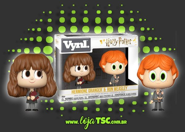 Pack - VNYL - Harry Potter - Hermione Granger & Ron Weasley