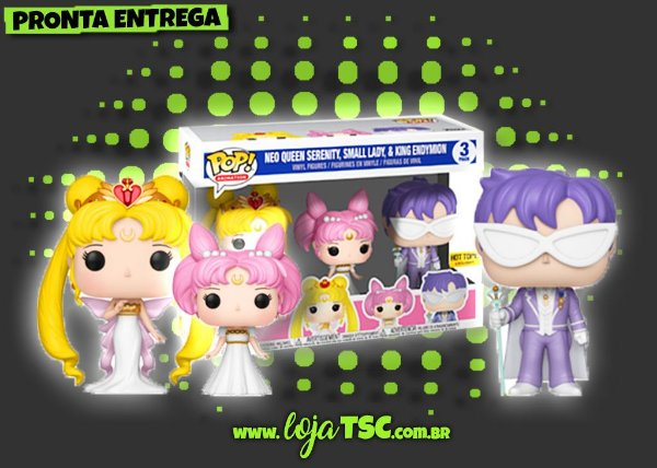 Sailor Moon - Pack - Neo Queen Serenity Small Lady & King Endymion