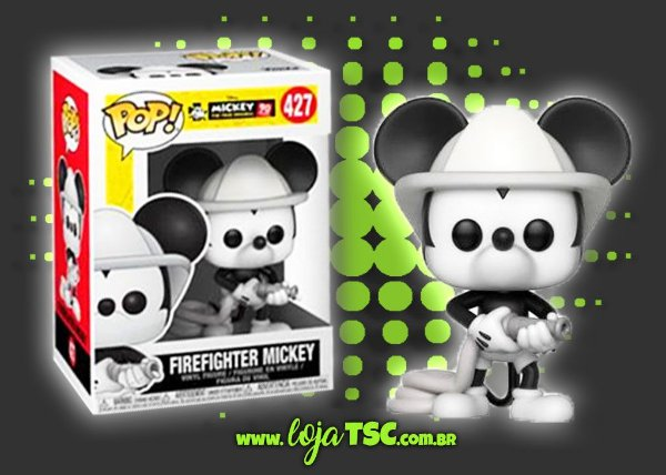 Mickey Mouse - Firefighter Mickey #427