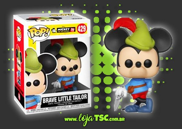 Mickey Mouse - Brave Little Tailor #429