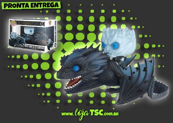 Game Of Thrones - Night King & Icy Viserion