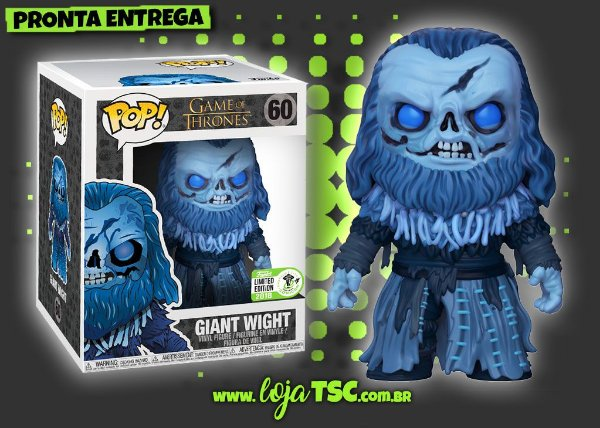 Game Of Thrones - Giant Wight #60 ECCC