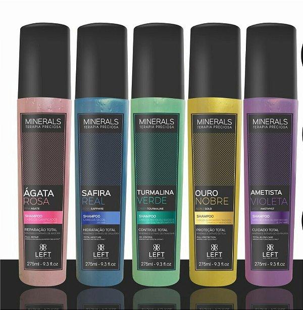 shampoo+Condicionador Minerals 275ml Left (5 opções)