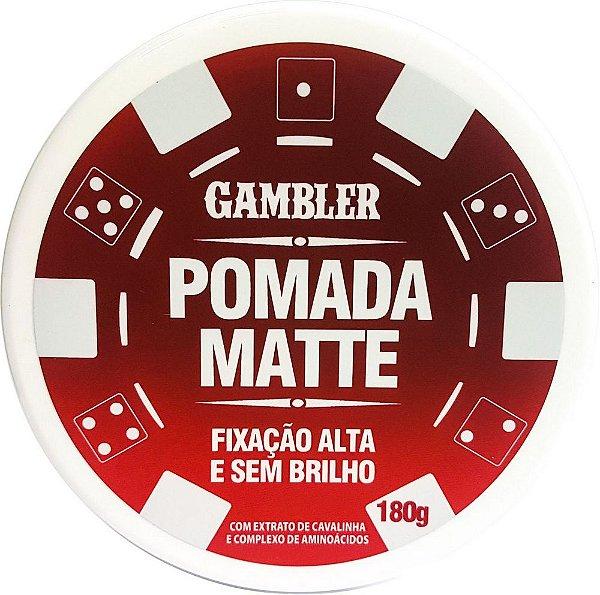 Pomada Modeladora Gambler 180g à Escolher (Valor Unitário) Para Homens exigentes