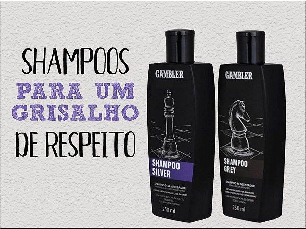 Shampoo Para Homens Cabelos Grisalhos 2 Opções (Valor Unitário) à Escolher