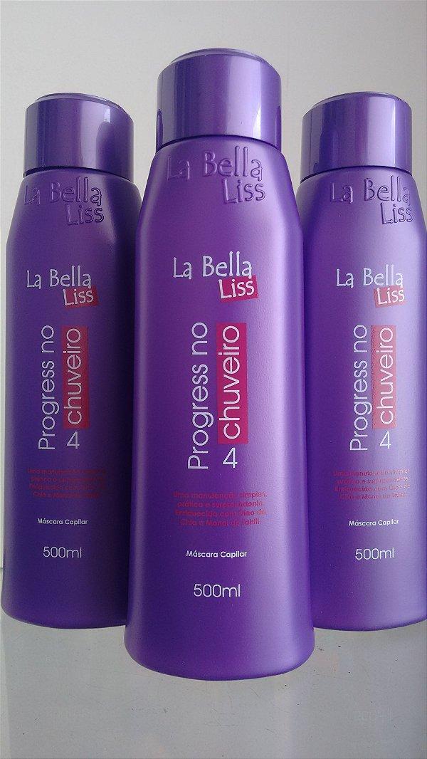 Progressiva No Chuveiro 500ml La Bella Liss