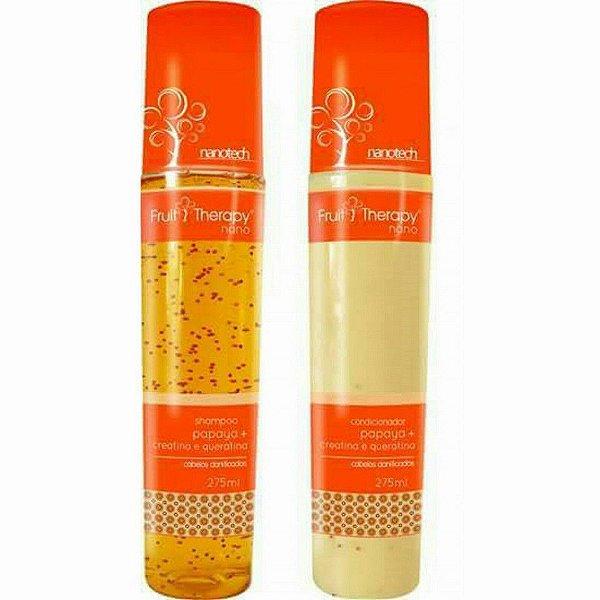 Kit Shampoo + Condicionador 275ml  Fruit Therapy Left  2 Itens (6 opções à escolher)