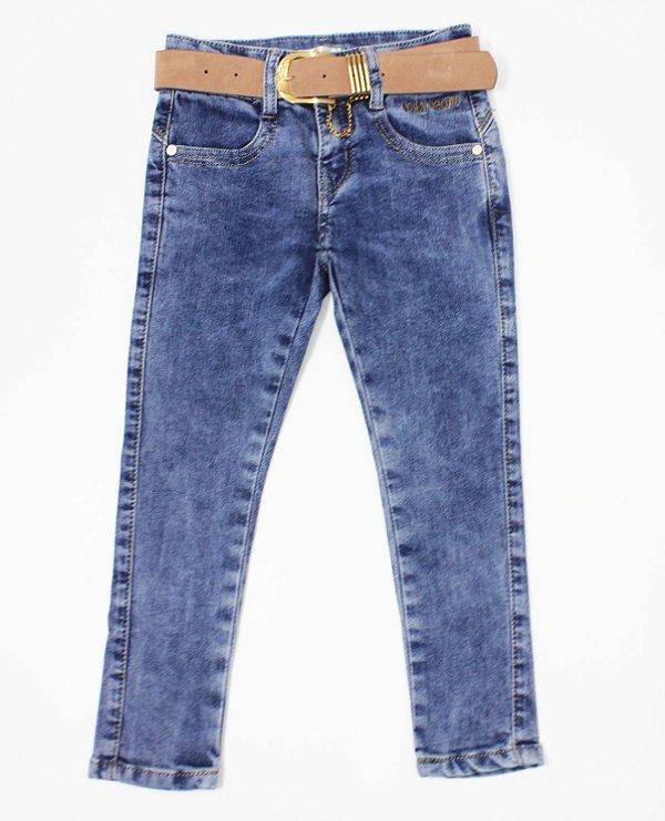 Calça Jeans Feminina Mily com Cinto