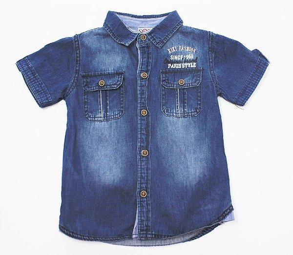 Camisa Jeans Baby Kiki