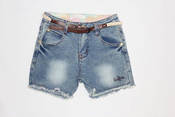 Shorts Feminino Juvenil Mily