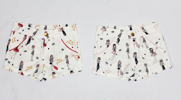 Shorts Boneca Mily