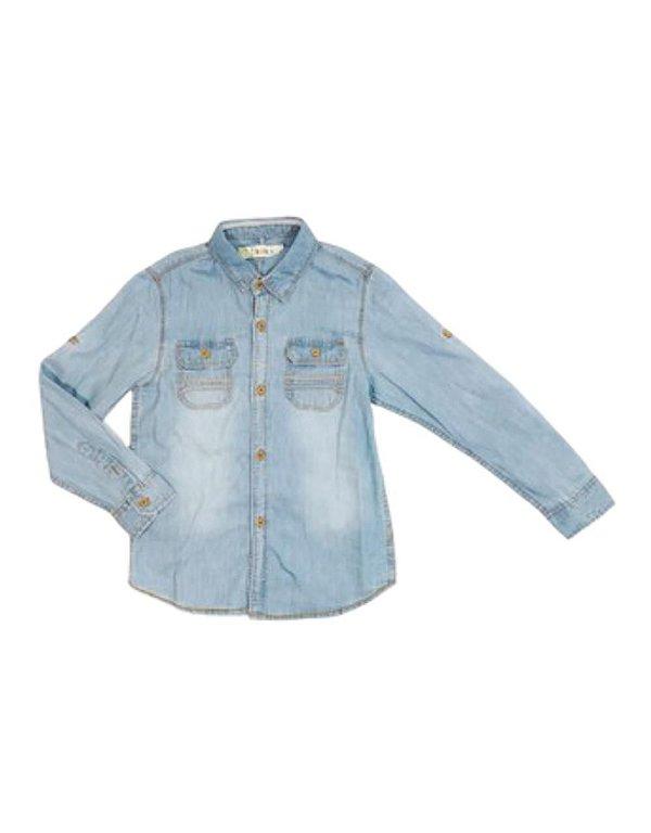 Camisa Infantil Menino  Jeans