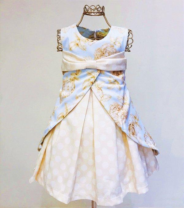 Vestido Flores Mily