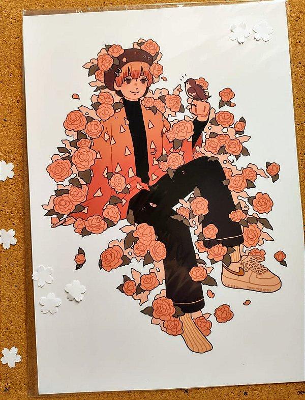 Prints A4 - Kimetsu no yaiba