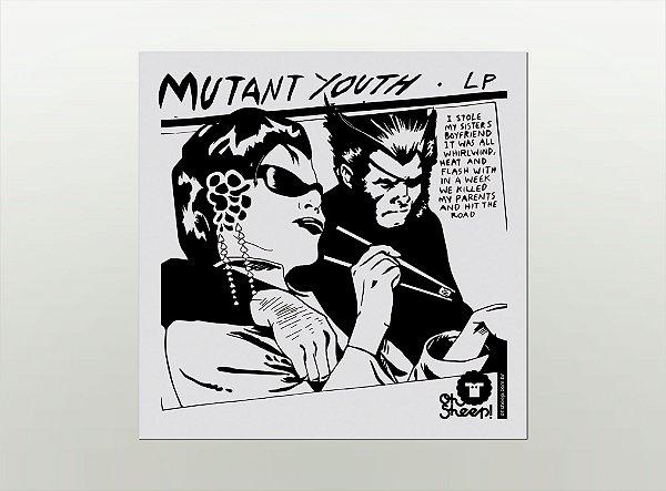 Imã de Geladeira - Sonic Youth (Mutant) / Wolverine